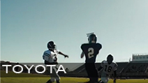 Toyota 'Teamwork'<br /> Production Company MJZ | Director Craig Gillespie<br /> Jeff Sanders Stunt Coordinator + Athlete Casting<br /> Football Uniforms + Equipment provided by Hollywood Football Productions
