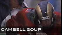 Campbell's Chunky Soup<br /> Production Company Space Program | Director Mike Bigelow<br /> Jeff Sanders Stunt Coordinator + Athlete Casting