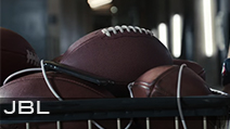 JBL<br /> Production Company Dummy | Director Harold Einstein<br /> Football Equipment Provided by Hollywood Football Productions