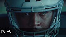 KIA Superbowl 2020 'Give It Everything'<br /> Production Company Serial Pictures | Director John Hillcoat<br /> Jeff Sanders Football Coordinator & Athlete Casting<br /> Football Uniforms & Equipment provided Hollywood Football Productions