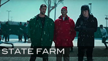 State Farm 'Siberia' Featuring Aaron Rodgers<br /> Production Company Anonymous Content<br /> Director Tim Godsall<br /> Jeff Sanders Football Coordinator & Athlete Casting<br /> Football Equipment Supplied by Hollywood Football Productions