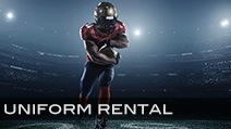 Football Uniform Rental Available - Contact Us